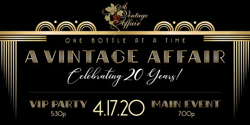 A Vintage Affair's 20th Anniversary Celebration: The Roaring Twenties