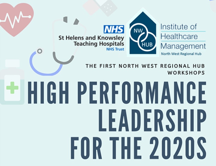 NW Hub High Performance Leadership for the 2020s Workshop 4th March 6:30pm image
