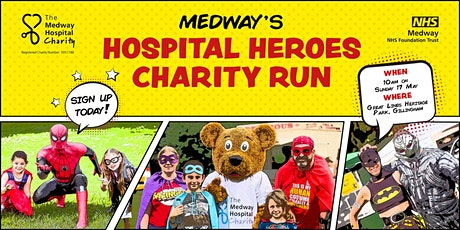 Medway Hospital Heroes Charity Run tickets