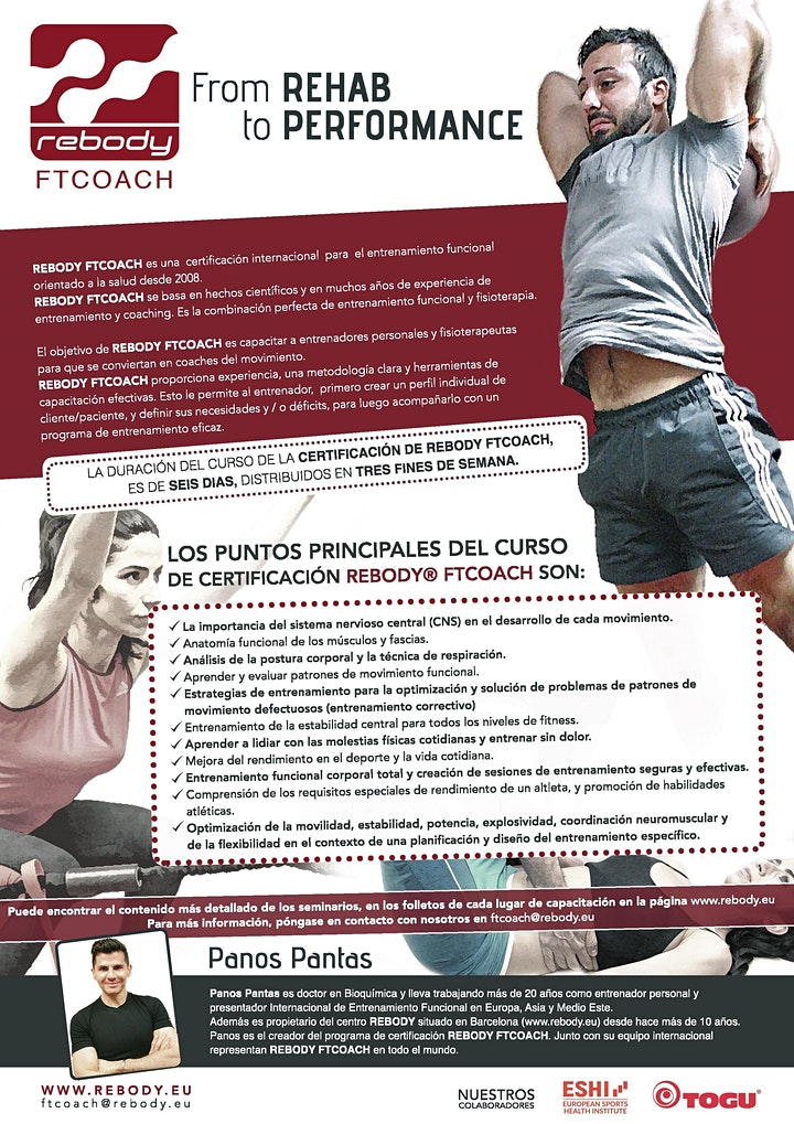 Rebody FTCOACH - Aus- /Fortbildung für Trainer, Physiotherapeuten & Coaches: Bild