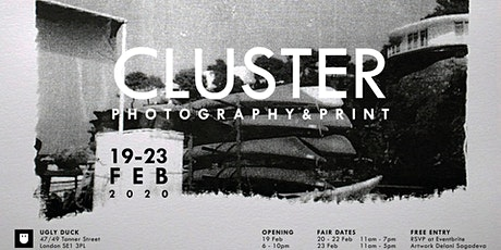 CLUSTER PHOTOGRAPHY & PRINT FAIR tickets
