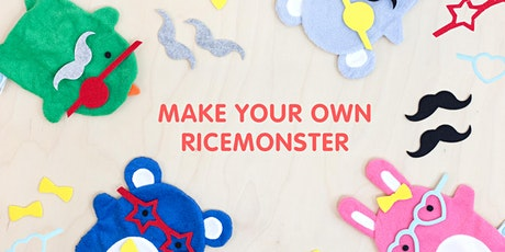 Half Term Workshop: Make your own Ricemonster tickets