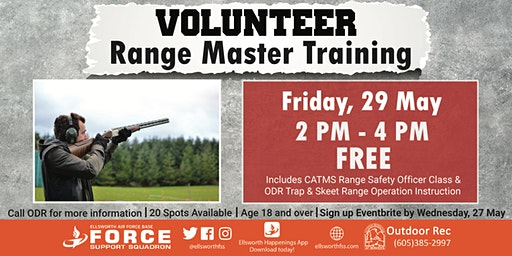 Ellsworth AFB Volunteer Range Master Training (Trap & Skeet) May 29
