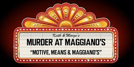 """""""Murder by Marinara!"""" Murder Mystery at Maggiano's Tysons Corner  tickets"""
