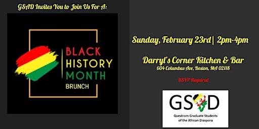GSAD Black History Month Brunch