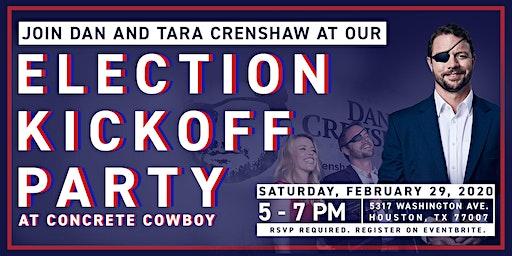 Congressman Dan Crenshaw's 2020 Election Kickoff Party