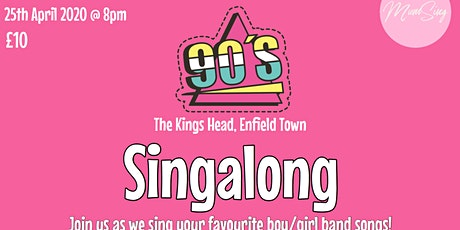 90's Singalong tickets