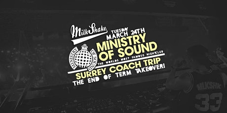 Surrey University End of Term Coach Trip to Ministry of Sound tickets