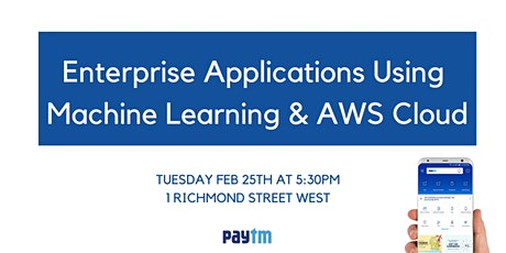 Enterprise Applications Using Machine Learning & AWS Cloud tickets
