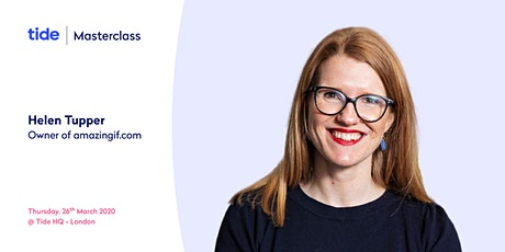 Tide Masterclass: How to gain confidence in yourself and your business tickets