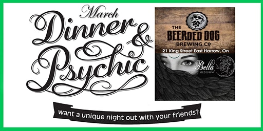 March - Dinner With A Psychic Medium