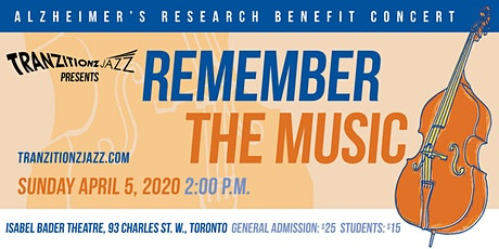 Remember the Music - Alzheimer's Research Benefit Concert tickets