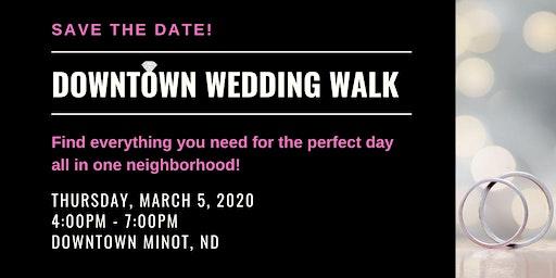 Downtown Wedding Walk