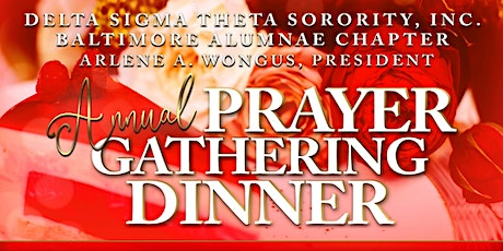 CANCELLED: Baltimore Alumnae Chapter's Annual Prayer Gathering tickets