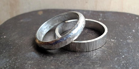 The Maker's Guild: Textured Silver Ring Workshop with Sally - March tickets