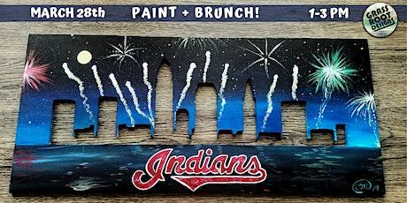 Cleveland Indians Paint + Brunch! tickets