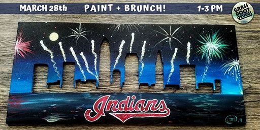 Cleveland Indians Paint + Brunch!