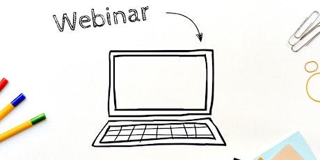 Sessão de Apresentação CIÊNCIAVITAE - Webinar CEDOC bilhetes