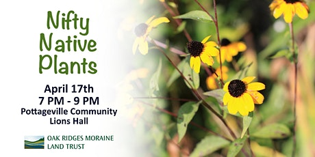 Nifty Native Plants tickets