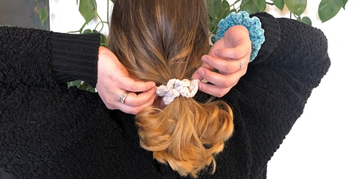 Crochet Scrunchie Workshop with Creekside Crochet: Sunday, March 1 at 11am