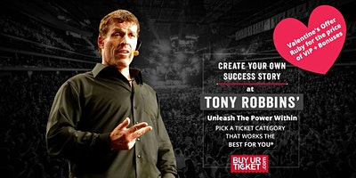 Tony Robbins Unleash the Power Within - Birmingham | 21-24 May 2020