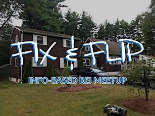 Info Based, Fix & Flip, Boston, Rehabber & Wholesaler Networking tickets