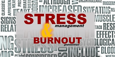"""Stress Management, and Burnout Prevention for Instructors, Students, and Helping Professionals"" - Jeffry Jeanetta-Wark, MA, LICSW -  A virtual ZOOM presentation tickets"