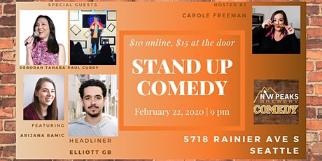 Stand Up Comedy Show : February 22nd tickets