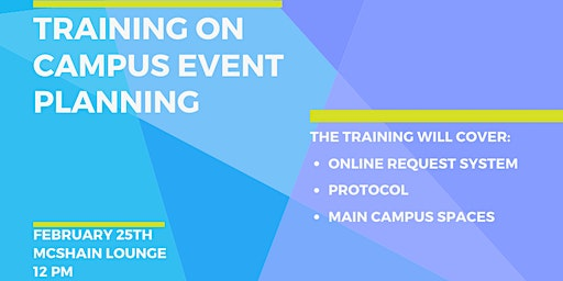 Training on Campus Event Planning