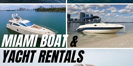 The #1 Yacht Rentals In Miami tickets