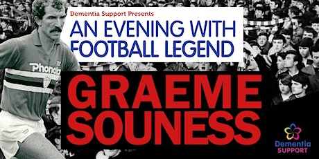 An Evening with Footballing Legend Graeme Souness  tickets