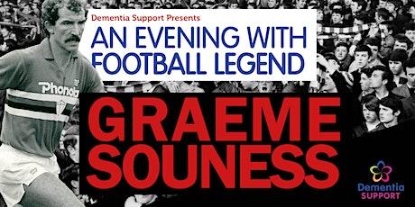 An Evening with Footballing Legend Graeme Souness  tickets