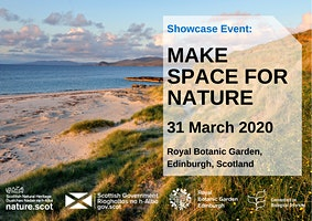 Make Space for Nature: A Showcase Event at the Royal Botanic Garden Edinburgh