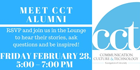 Meet CCT Alumni, Session 1, Spring 2020! tickets
