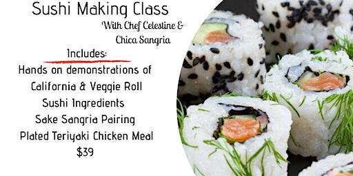 Sushi & Sip - Sushi Rolling Class