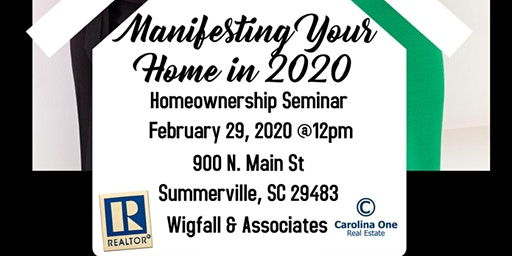 Manifesting Your Home in 2020