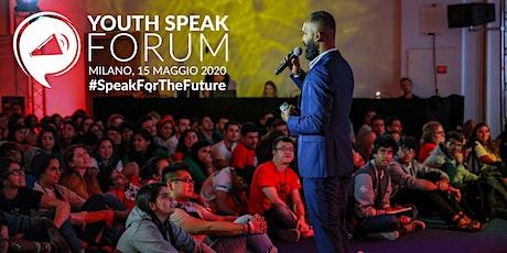 YouthSpeak Forum 2020 biglietti