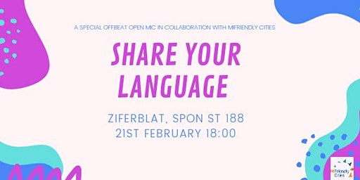 Share your language