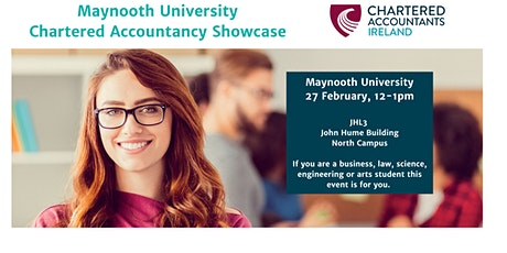 Chartered Accountancy Showcase at Maynooth University tickets