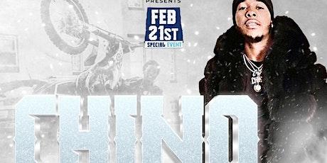 """""""CHINO""""  @1015 Bar&Lounge lI 2.21 tickets"""