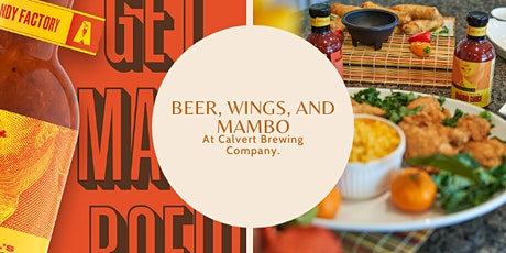 Beer, Wings, and Mambo! tickets