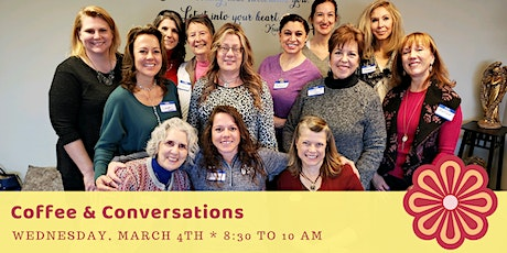 Coffee and Conversations 3-4 tickets
