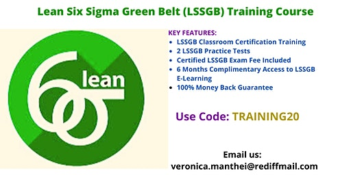 LSSGB Certification Training in Detroit, MI
