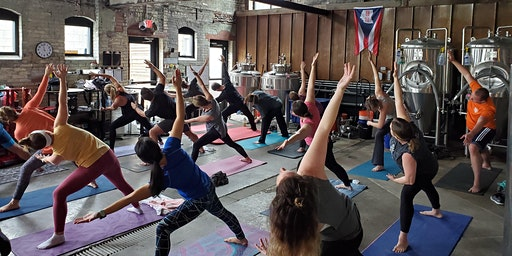 Yoga Brunch in the Brewhouse