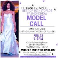 Elegant Evening: Best of Both Worlds Model Casting