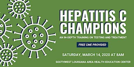 Hepatitis C Champions Training  Lake Charles tickets