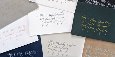 Envelope Calligraphy tickets
