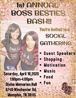 1st Annual Boss Besties Bash: A Social Gathering