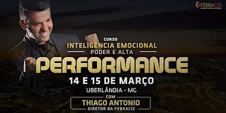 [UBERLÂNDIA/MG] Curso Inteligência Emocional | Poder e Alta Performance ingressos