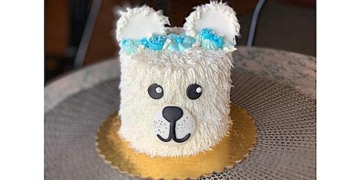 Polar Bear Cake Decorating Class (02-25-2020 starts at 6:00 PM)